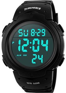 CakCity Men's Digital Sports Watch Review - Best Hiking Watches - Lightwight and Ultralight Camping and Hiking