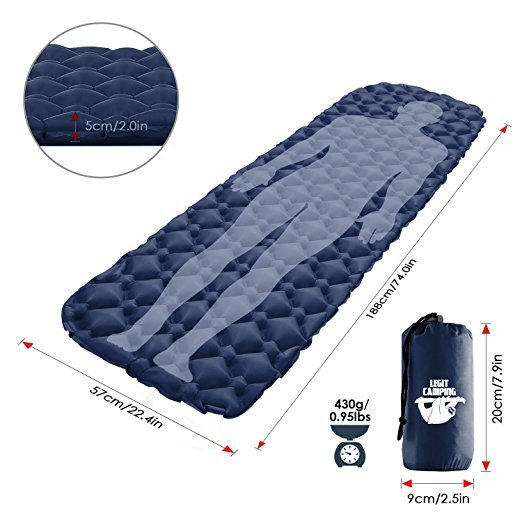 Sleeping Pad By Legit Camping Product Review Ultralight