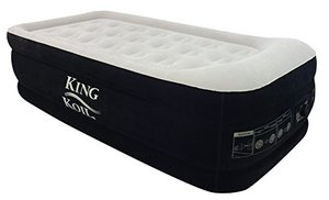 King Koil TWIN SIZE UPGRADED Luxury Raised Air Mattress Review - Best Air Beds - Lightwight and Ultralight Camping and Hiking