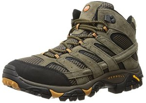 Merrell Men's Moab 2 Vent Mid Hiking Boot Review - Best Mens Hiking Boots - Lightwight and Ultralight Camping and Hiking