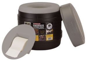 Reliance Products Hassock Portable Lightweight Self-Contained Toilet Review - Best Portable Toilets - Lightwight and Ultralight Camping and Hiking
