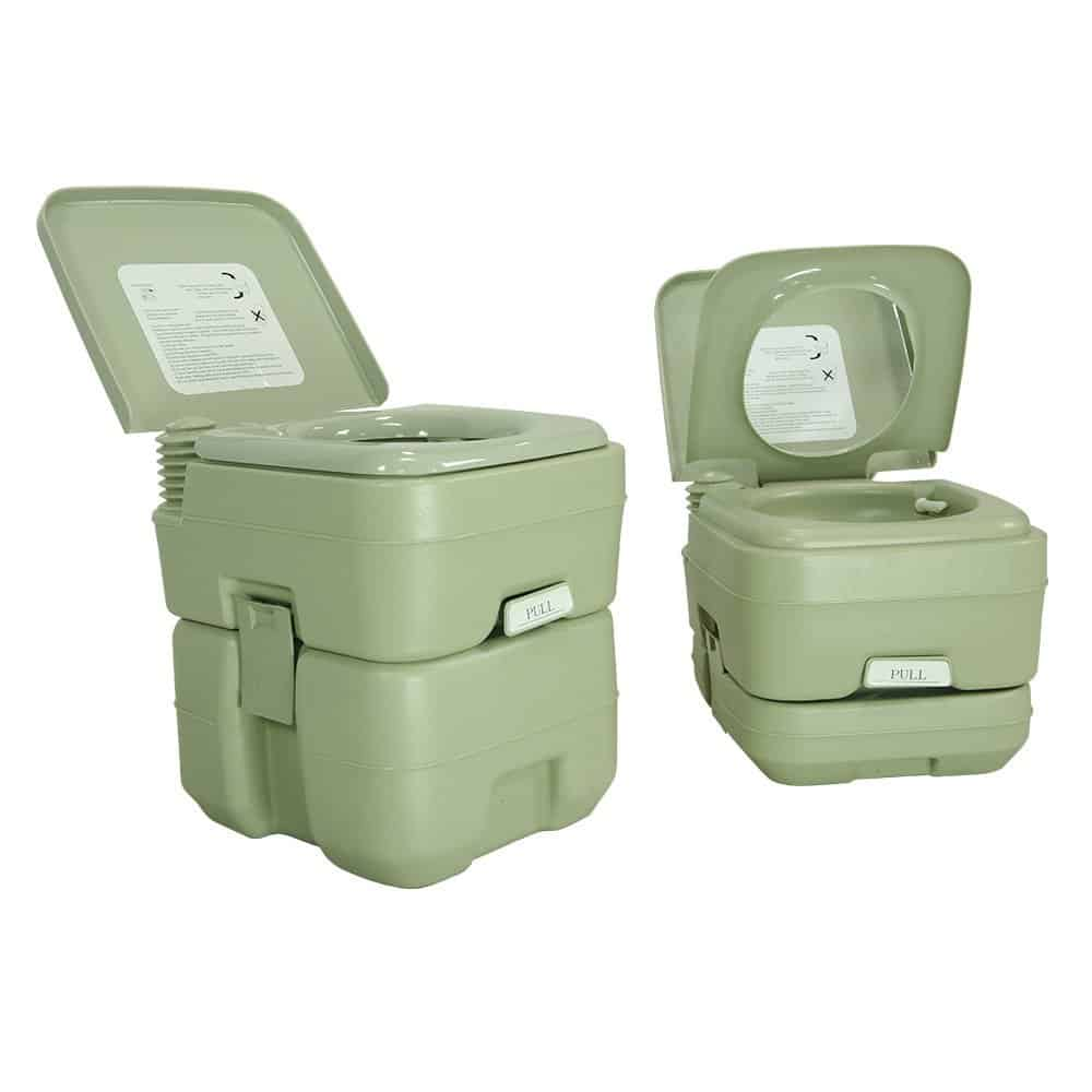 PARTYSAVING New Travel Outdoor Camping Boat Portable Toilet Potty ...