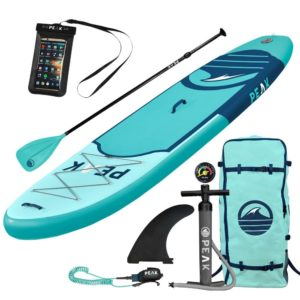 PEAK Inflatable Stand Up Paddle Board Review - Best Stand Up Paddle Boards - Lightwight and Ultralight Camping and Hiking