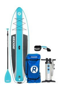 iROCKER CRUISER Inflatable Stand Up Paddle Board Review - Best Stand Up Paddle Boards - Lightwight and Ultralight Camping and Hiking