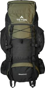 TETON Sports Scout 3400 Internal Frame Backpack Review - Best Backpacks - Lightwight and Ultralight Camping and Hiking