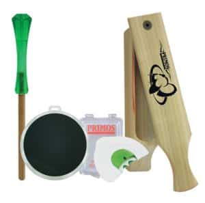 Primos Hunting Turkey Hunter Starter Pack Review - Best Turkey Hunting Calls - Lightwight and Ultralight Camping and Hiking