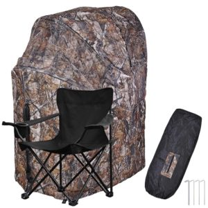 AW 1 Man Fold Chair Ground Hunting Blind Review - Best Hunting Tents - Lightwight and Ultralight Camping and Hiking