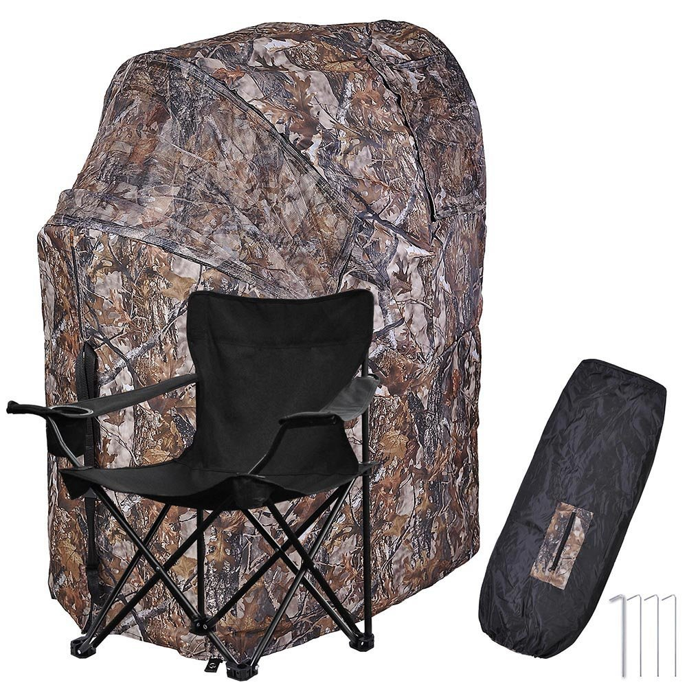 AW 1 Man Fold Chair Ground Hunting Blind Product Review