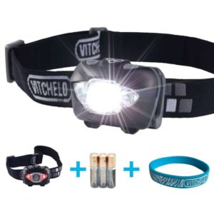 VITCHELO V800 Headlamp Review - Best Headlamps - Lightwight and Ultralight Camping and Hiking