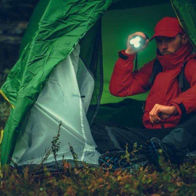 Flashlight, camping flashlight, LED Tactical flashlight